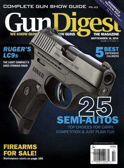 Gun Digest Cover - 9/18/2014