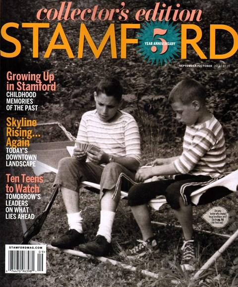 Stamford Magazine Cover - 9/1/2014