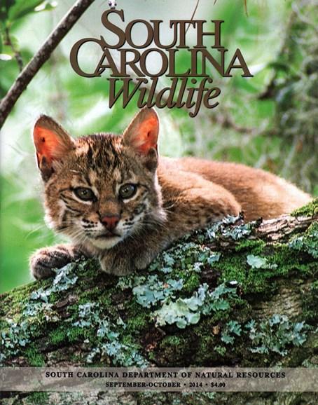 South Carolina Wildlife Cover - 9/1/2014