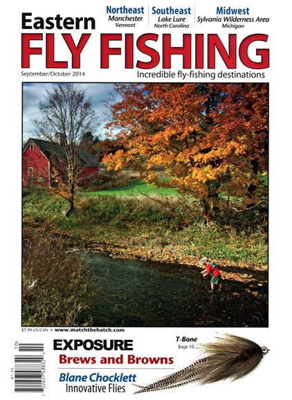 Eastern Fly Fishing Cover - 9/1/2014