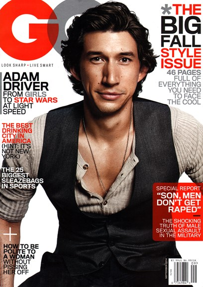 Gentlemen's Quarterly - GQ Cover - 9/1/2014