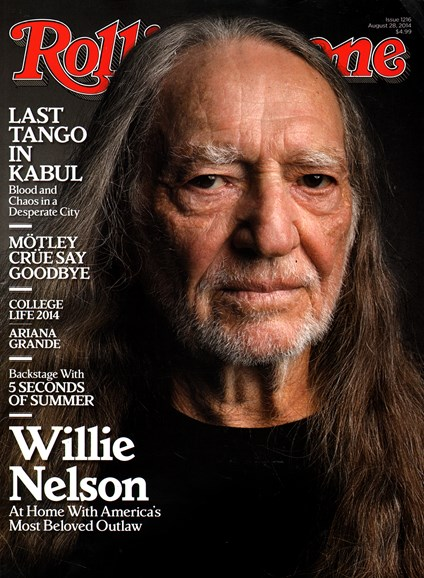 Rolling Stone Cover - 8/28/2014