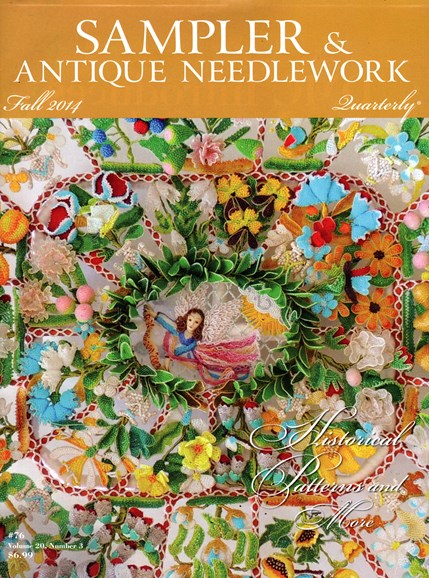 Sampler & Antique Needlework Qtry Magazine Cover - 9/1/2014