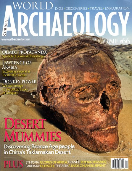 Current World Archaeology Cover - 8/1/2014