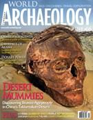 Current World Archaeology Magazine 8/1/2014