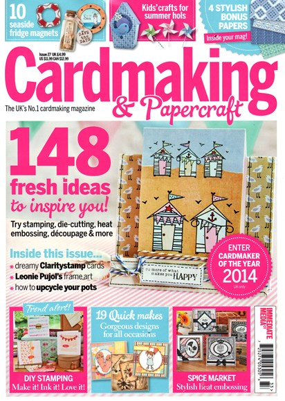 CardMaking & PaperCrafts Cover - 8/1/2014