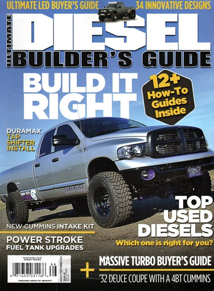 Ultimate Diesel Builder's Guide Cover - 8/1/2014