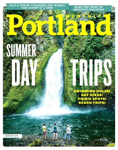 Portland Monthly Cover - 8/1/2014