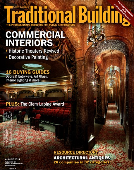 Traditional Building Cover - 8/1/2014
