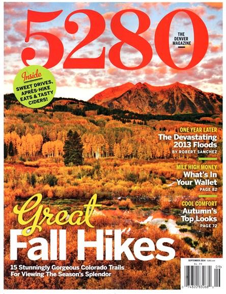 5280 Magazine Cover - 9/1/2014