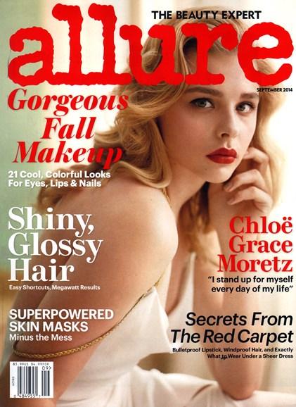 Allure Cover - 9/1/2014