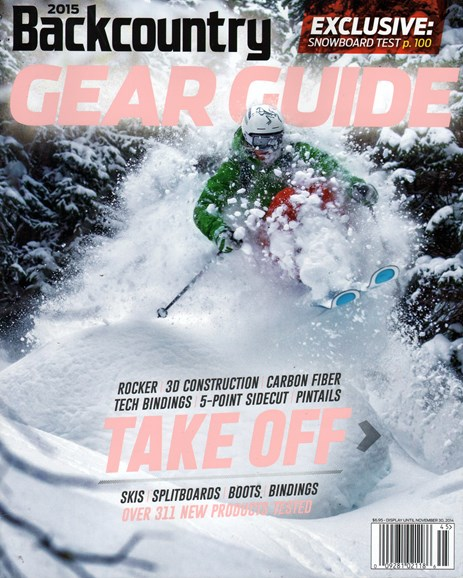 Backcountry Cover - 9/1/2014