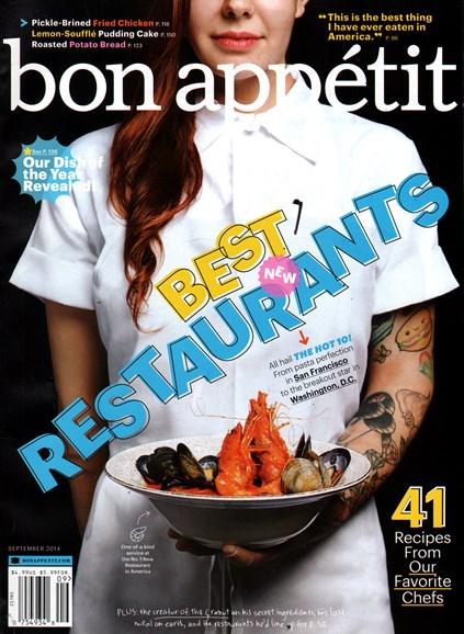 Bon Appétit Cover - 9/1/2014