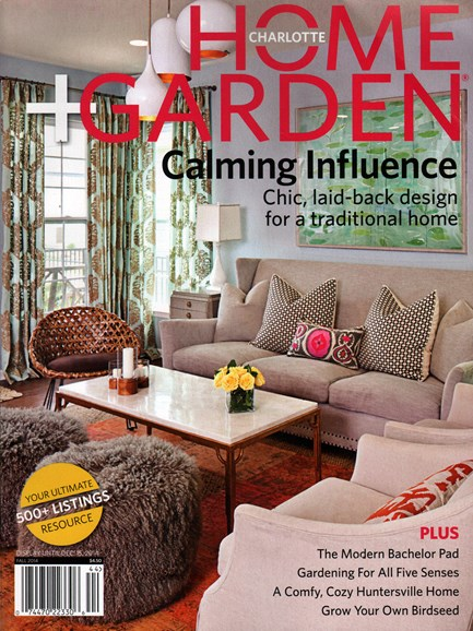 Charlotte Home & Garden Cover - 9/1/2014