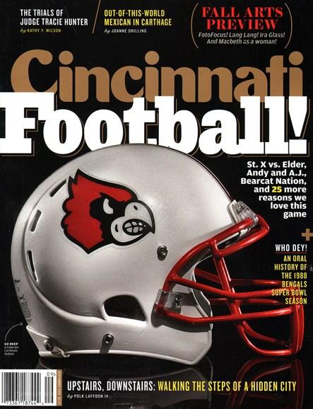 Cincinnati Cover - 9/1/2014