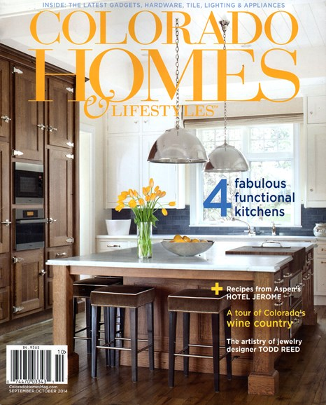 Colorado Homes & Lifestyles Cover - 9/1/2014