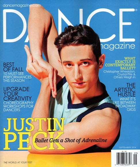 Dance Magazine Cover - 9/1/2014