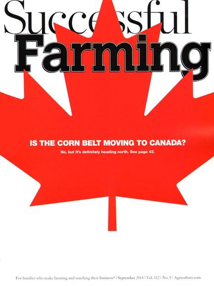 Successful Farming Cover - 9/1/2014