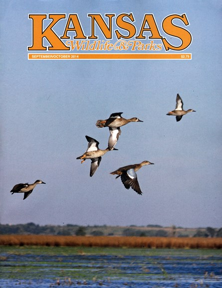 Kansas Wildlife & Parks Cover - 9/1/2014