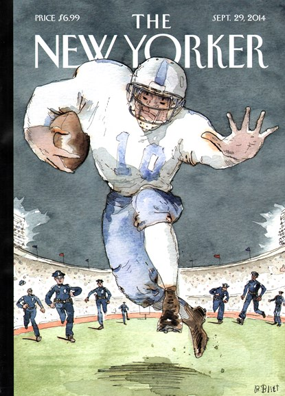 The New Yorker Cover - 9/29/2014