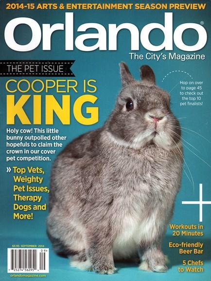 Orlando Magazine Cover - 9/1/2014