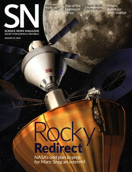 Science News Cover - 8/23/2014