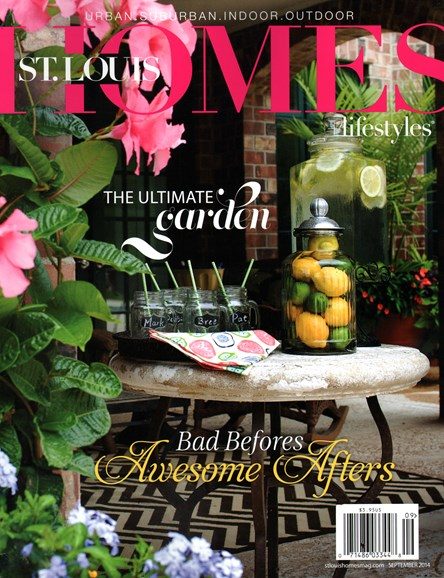 St. Louis Homes & Lifestyles Cover - 9/1/2014