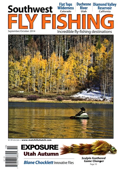 Southwest Fly Fishing Cover - 9/1/2014