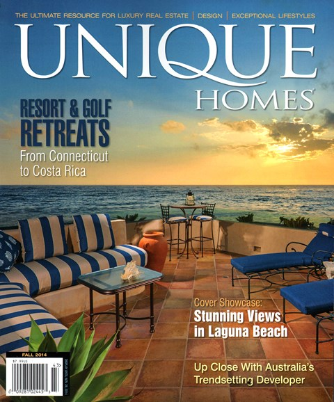 Unique Homes Cover - 9/1/2014
