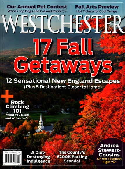 Westchester Magazine Cover - 9/1/2014