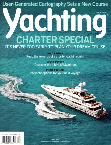 Yachting Cover - 9/1/2014