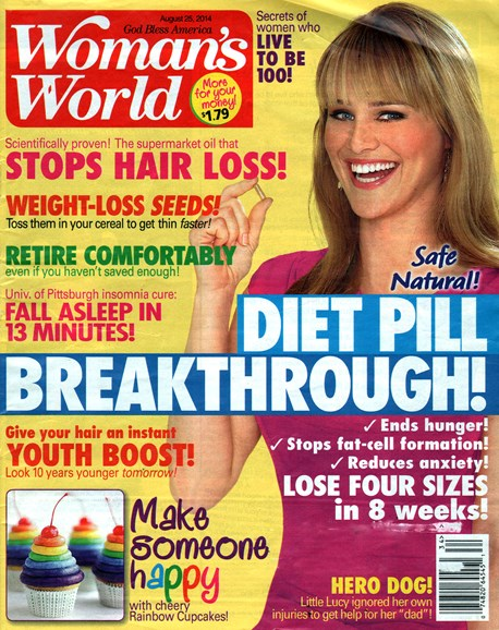 Woman's World Cover - 9/25/2014