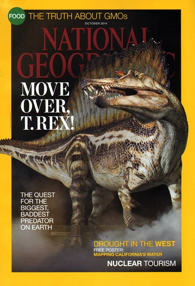 National Geographic Cover - 10/1/2014