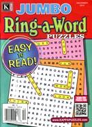 Jumbo Ring a Word Magazine 12/1/2014