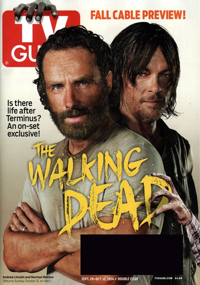 TV Guide Cover - 9/29/2014