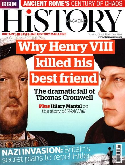 BBC History Cover - 9/1/2014