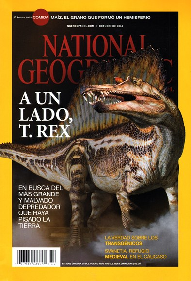National Geographic En Español Cover - 10/1/2014