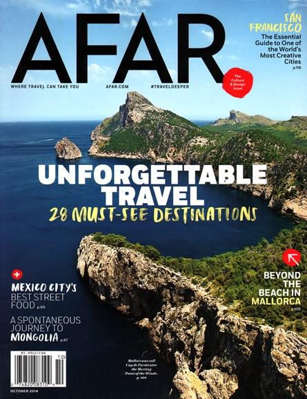 AFAR Cover - 10/1/2014