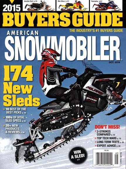 American Snowmobiler Cover - 10/1/2014
