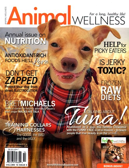 Animal Wellness Cover - 10/1/2014