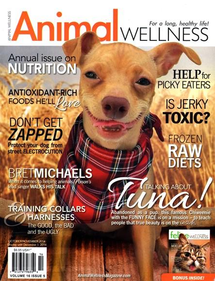 Animal Wellness Cover - 10/1/2014