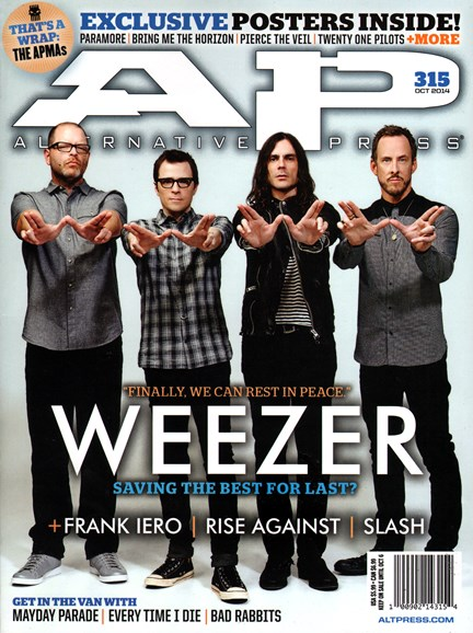 Alternative Press Cover - 10/1/2014