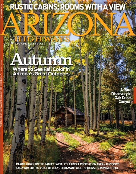 Arizona Highways Cover - 10/1/2014