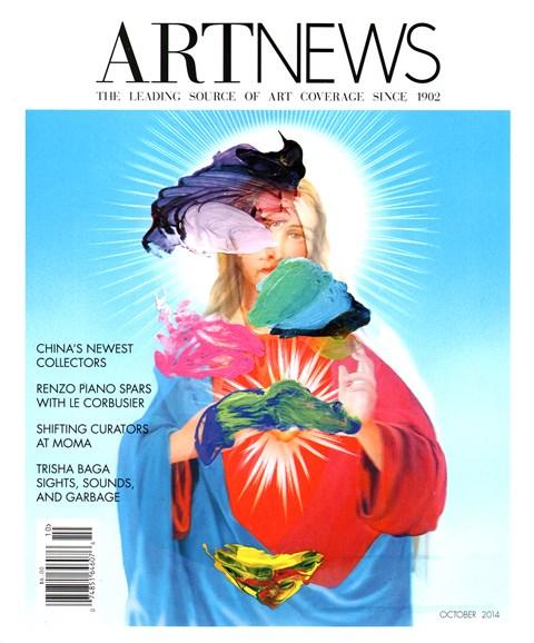 ARTnews Cover - 10/1/2014