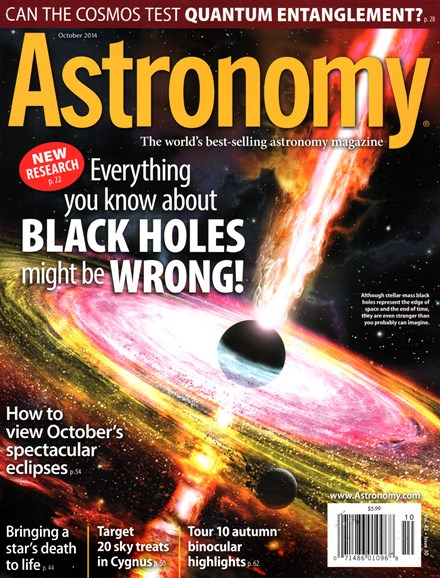 Astronomy Cover - 10/1/2014