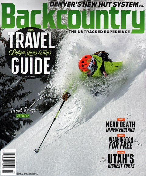 Backcountry Cover - 10/1/2014