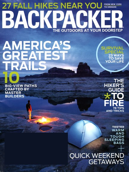 Backpacker Cover - 10/1/2014