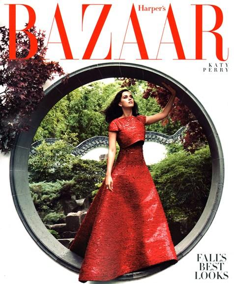 Harper's Bazaar Cover - 10/1/2014