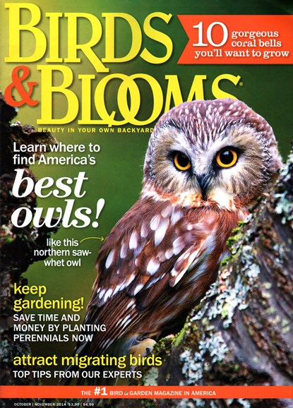 Birds & Blooms Cover - 10/1/2014