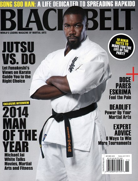Black Belt Magazine Cover - 10/1/2014